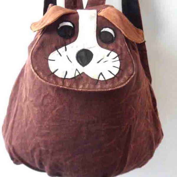 Brown Dog Rucksack
