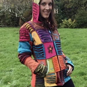 Colourful Patch Hoody