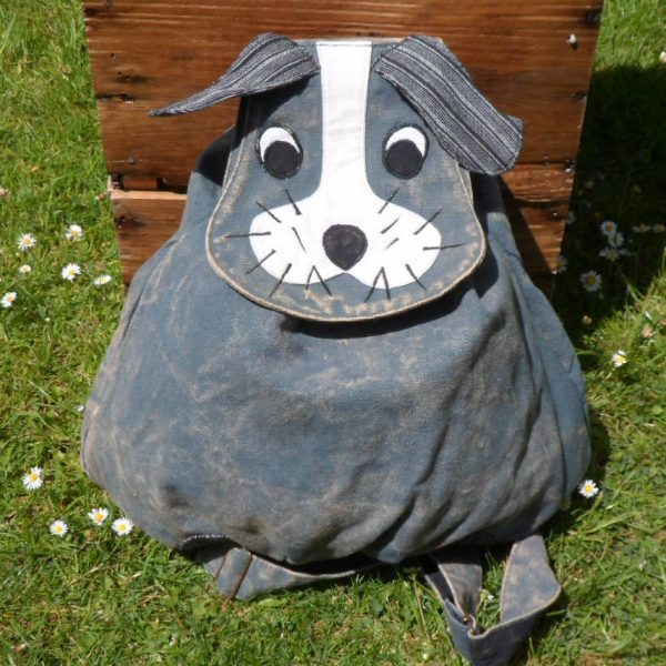 Animal Themed Cotton Rucksack