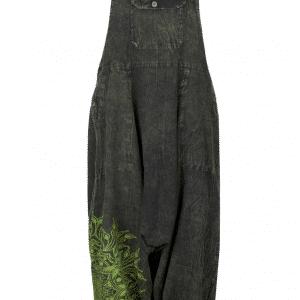 Green Harem Dungarees