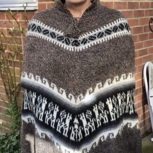 Hand Made Alpaca Wool Poncho