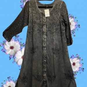 Button Down A-Line Dresses